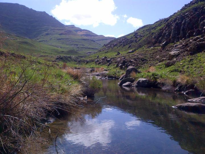 A river too!