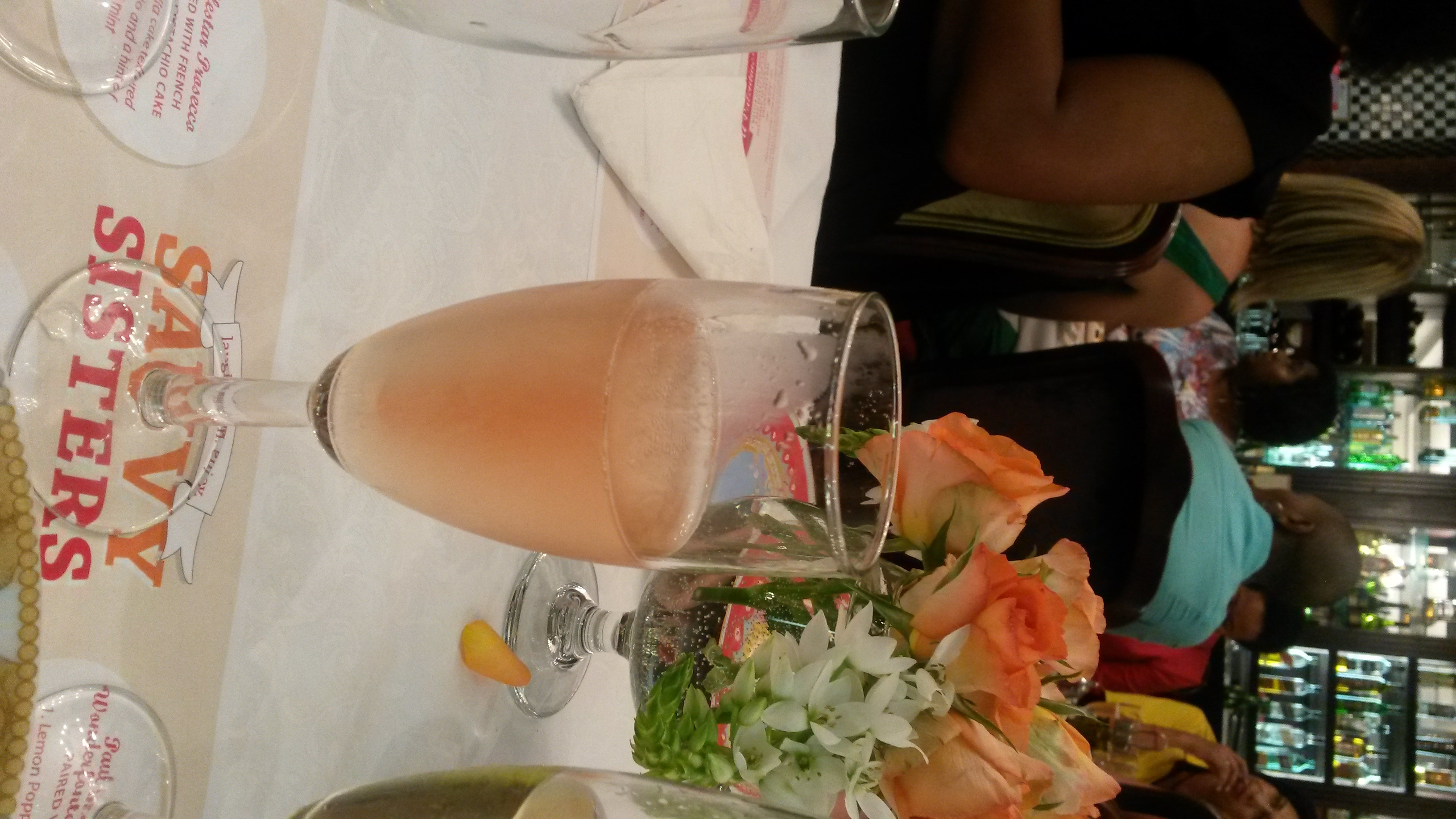 An evening of bubbly and cake…. | Mia Musings