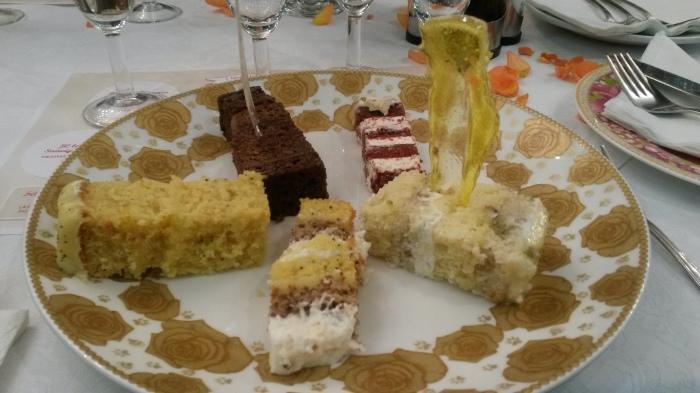 The decadent cakes