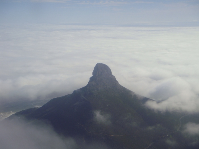 Up in the clouds!! (view from Table Mountain from my last visit to CT)