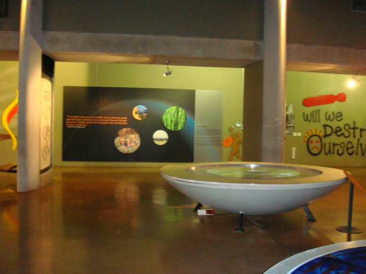 Interesting displays inside the museum