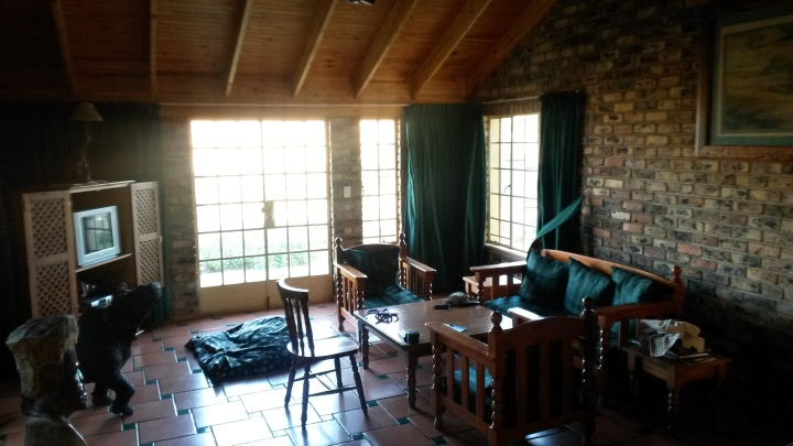 Living area of our chalet