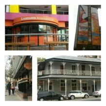 Restaurants in the area
