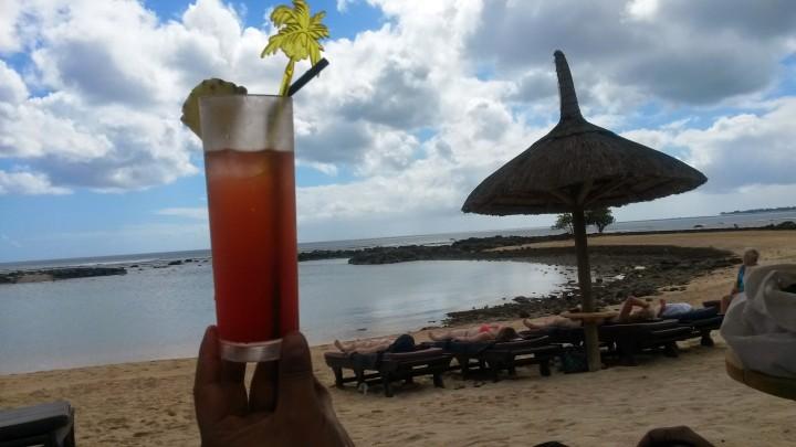 Much deserved cocktail!