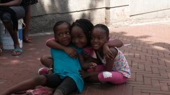 Kids enjoying a day out