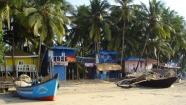Fishing village in Goa