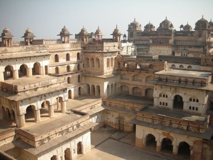 Old fort Orchha