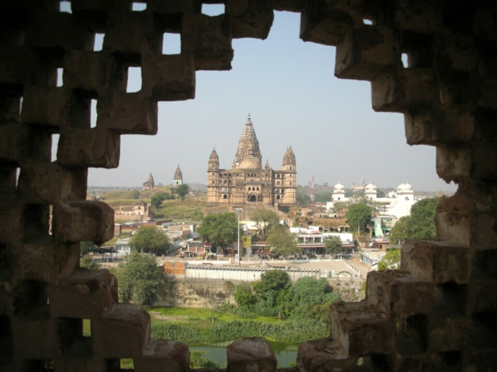 Old temple in Orchha