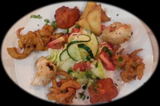 The mixed platter starter