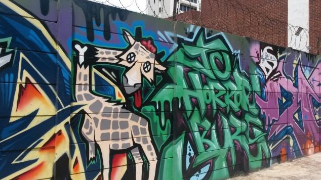 Braamfontein graffiti