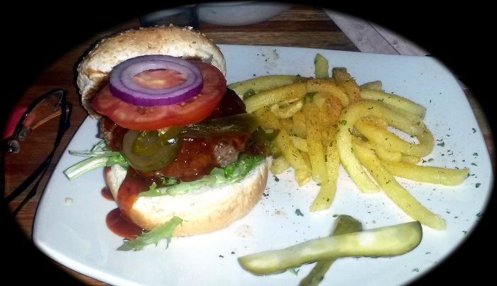Chilly Relish Burger