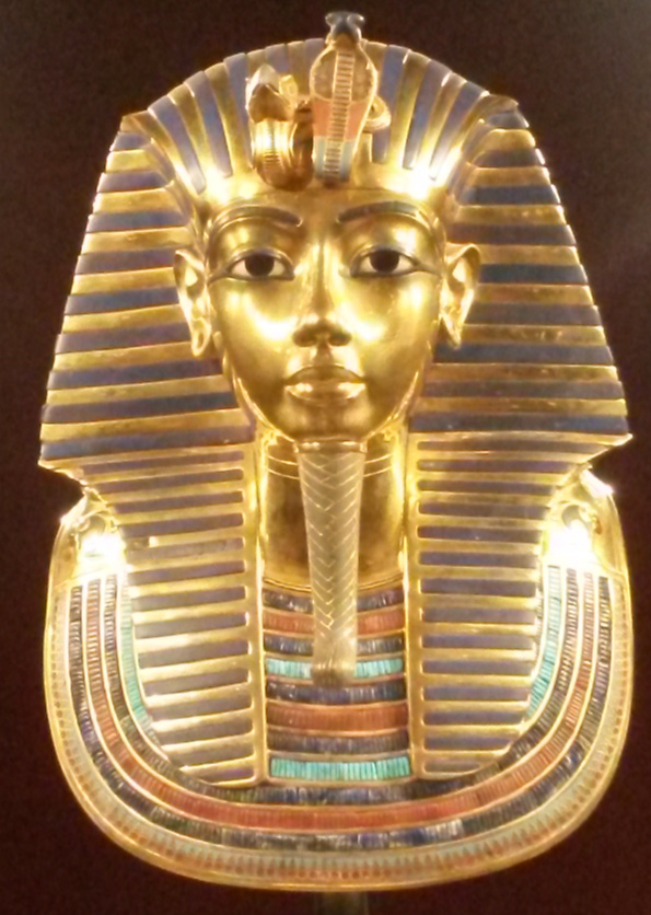 King TUT's most famous mask
