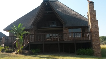 Our chalet at the Kruger Park Lodge