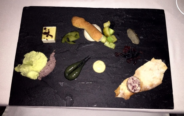 The first course - Textures