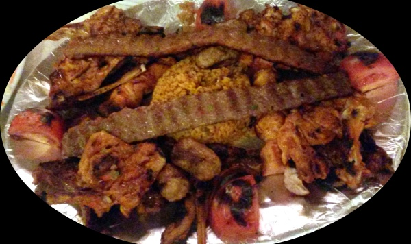 The mixed grill platter