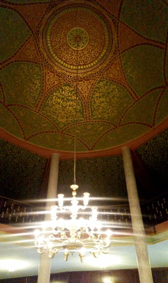 The artistic ceiling