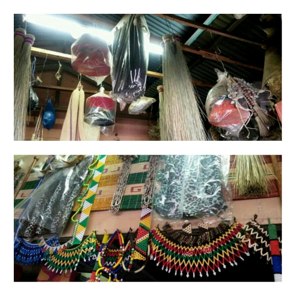Wares at the Kwa Mai Mai  market
