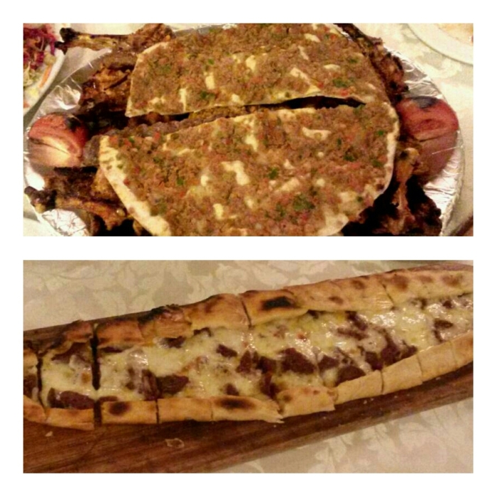 Top: Lachmun Bottom: Pide