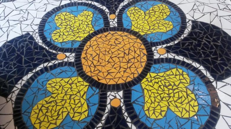 Pavement art, Clarens
