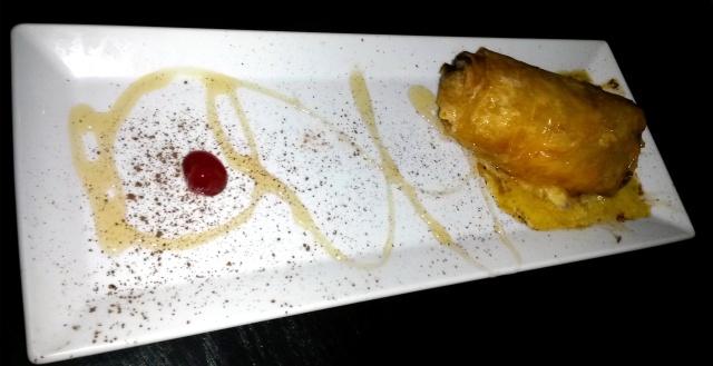 The spring roll dessert