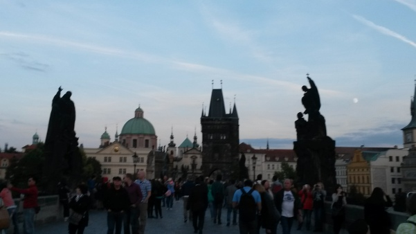 Charles Bridge at ANY point in the day