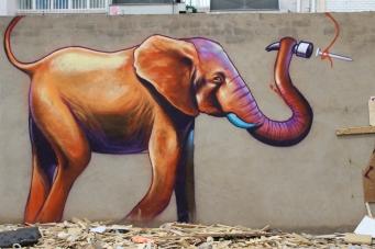 South African artist Falko