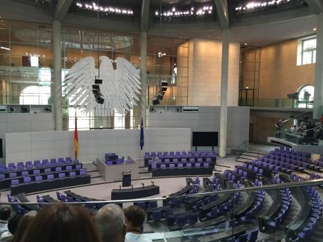 Inside the Bundestag