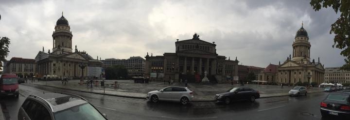 Panoramic view of Gendamenmarkt