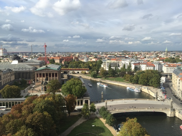 Berlin as seen from atop the Berliner Dom