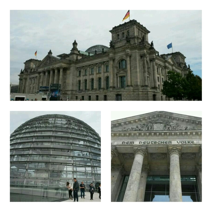 Bundestag and the dome