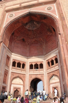 Inside the Buland Darwaza, Fatehpur Sikri