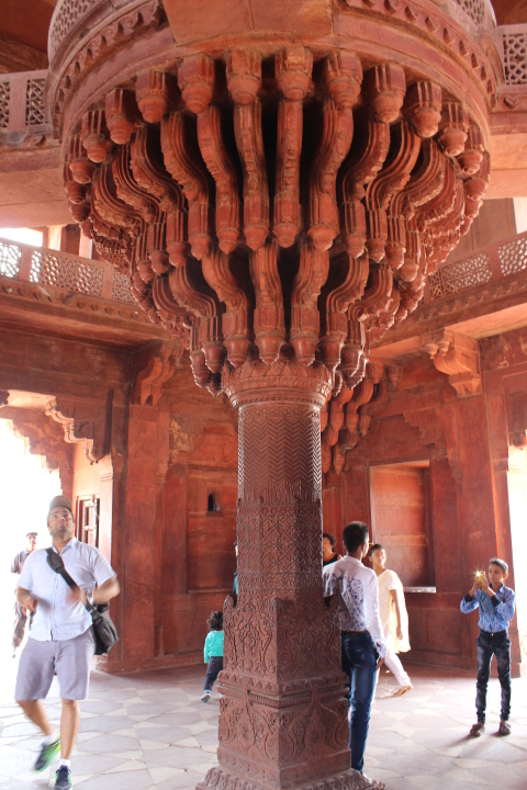 Inside the Diwan-I-Khas