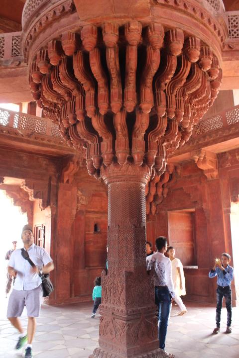 Inside the Diwan-I-Khas