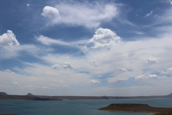Sterkfontein dam enroute to Champagne valley
