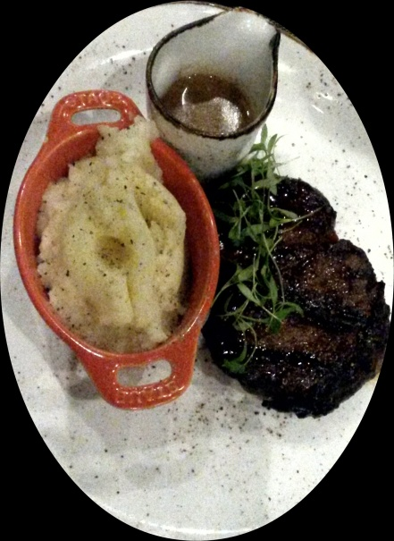 The Rib Eye Steak